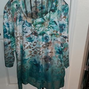 JM Collections long sleeved top